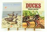 Lot #353 -(2) Decoy Books: Southern Decoys of  Virginia and the Carolinas by Henry Fleckenstei