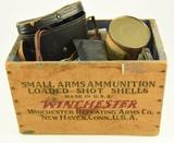 Lot #508 -Vintage Winchester Repeating Arms Co. New Haven, Conn wooden shot shell box and