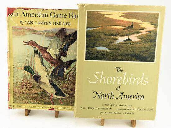 Lot # 4585 - (2) books: The Shorebirds of North America by Gardner D. Stout, and Our American