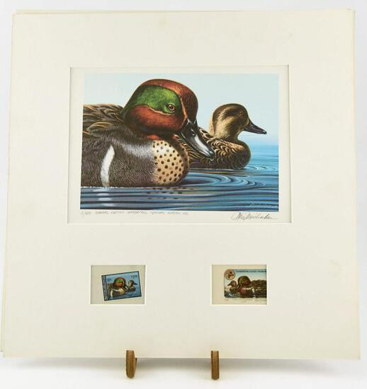 Lot # 4587 - Very Unique Special Edition #2 of 50 Easton, MD Waterfowl Festival Duck Stamp print
