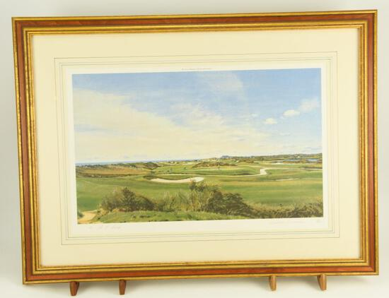 "Lot # 4050 - ""9th Green, Maidstone Club"" limited edition print by Arthur Weaver. The print is"