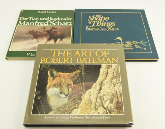 "Lot # 4053 - (3) Books relating to wildlife related paintings to include ""Der Tier-und Jagdmaler"