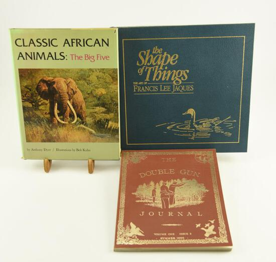 "Lot # 4055 - (3) Art & collectors books to include ""The Double Gun Journal"" Volume One Issue 3"