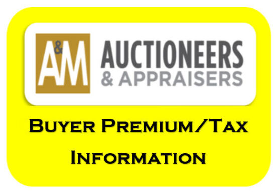 Buyer Premium/Tax Info