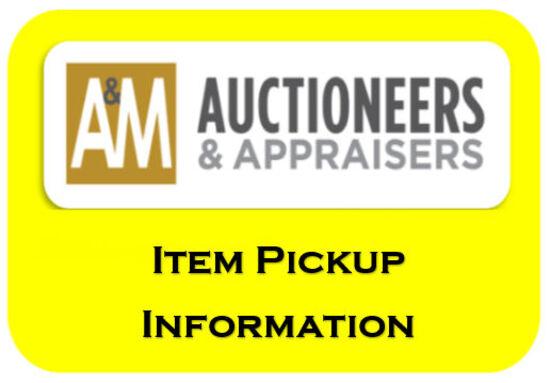Item Pickup Info: