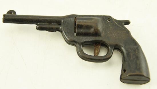 Vintage Wyandotte Toys Red Ranger pistol and vintage metal toy pistol unmarked