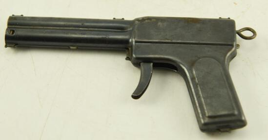 Vintage Daisey No. 72 Squirt-O-Matic metal toy squirt and cap gun