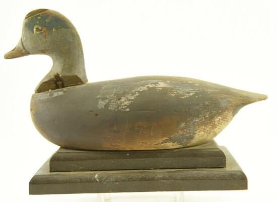 Lot #318 -Green Wing-Teal drake from the Currituck Shooting Club North Carolina (damage to