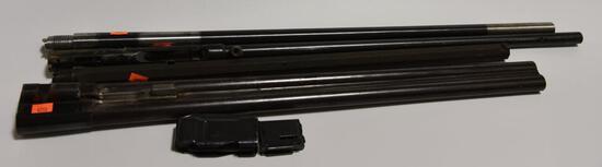 "Lot #14 -(4) Miscellaneous shotgun and rifle barrels to include: A Peiper 1881, 24"" Damascus"