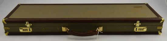 Lot #22 -Browning Sport Equipment shotgun breakdown case with padded interior and combination