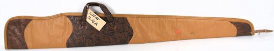 Lot #24A -(5) Softsided gun cases by Gun Mate and Allen, and (1) Plastic Rifle hardcase by Gun