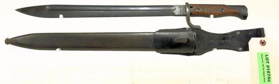 Lot #202 - Waffenfabrik Mauser Oberndorf Bayonet