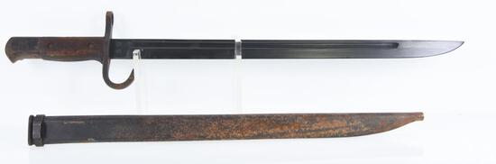 Japanese Type 30 Bayonet with Scabbard.