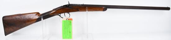 MANUFACTURER/IMP BY: Flobert (Belgian), MODEL: Rolling Block Rifle, ACTION TYPE: Single Shot Rifle