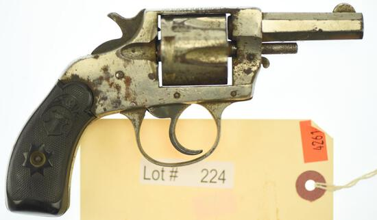 MANUFACTURER/IMP BY: Forehand Arms Co, MODEL: Double Action Revolver, ACTION TYPE: Double Action