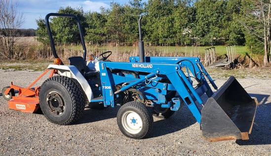 Lot #354 -1997 New Holland model 1715 Compact Utility Tractor 1.3L 3 Cyl Diesel engine,