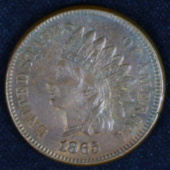 1865 U.S. Indian head cent