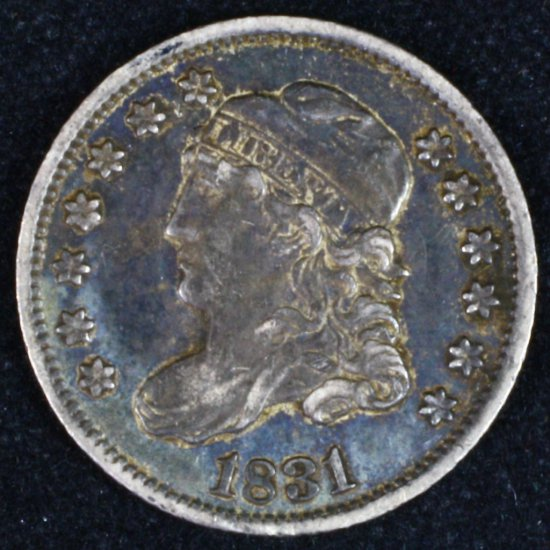 1831 U.S. capped bust half dime