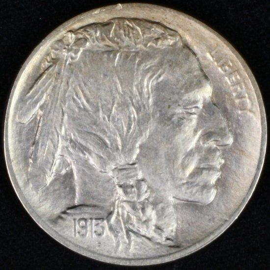 1913 type 1 U.S. buffalo nickel