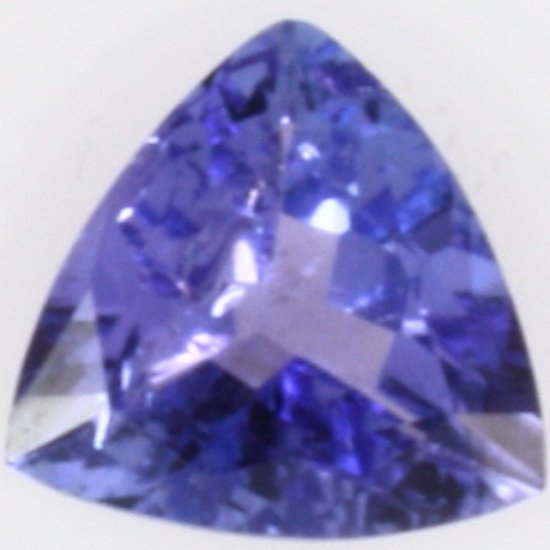 Trillian-cut tanzanite