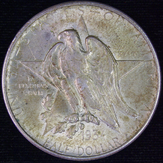 1934 U.S. Texas Centennial commemorative half dollar