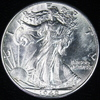 1942 U.S. walking Liberty half dollar