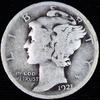1921 U.S. Mercury dime