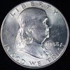 1948 U.S. Franklin half dollar
