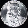 1955 U.S. Franklin half dollar