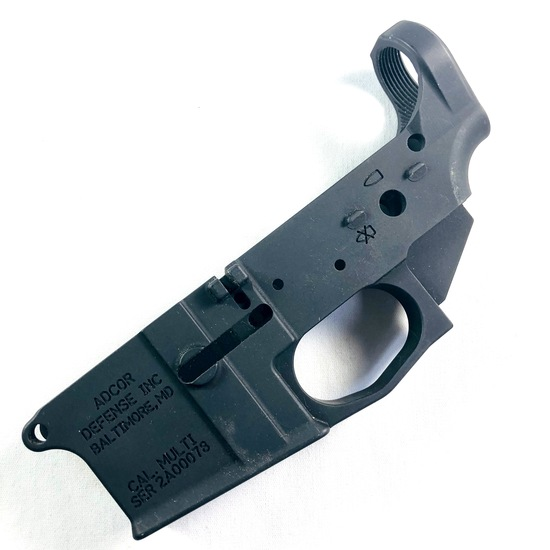 New Adcor Billet AR-lower  receiver, multi-cal