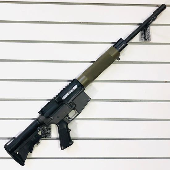 New custom-built DPMS A-15 semi-automatic rifle, 6mm PPC cal