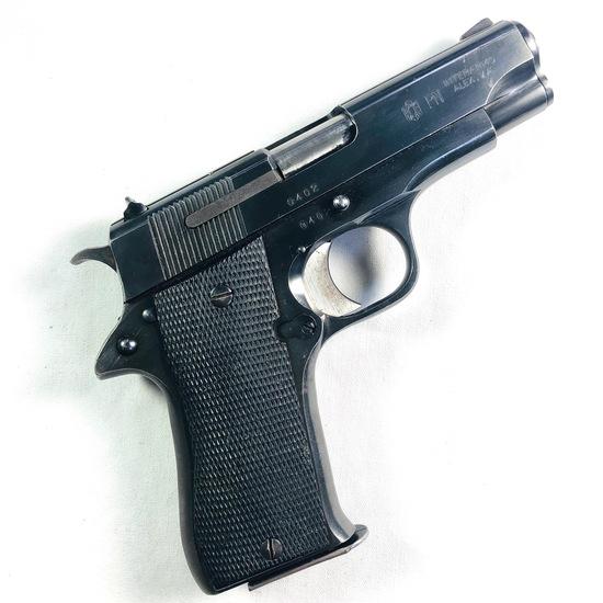Estate Star  semi-automatic pistol, 9mm cal