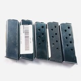 Lot of 5 new Beretta Bobcat .25 ACP 6-round capacity magazines