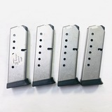 Lot of 4 new Smith & Wesson .45 ACP 8-round capacity magazines