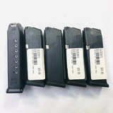 Lot of 5 new Glock G23 .40 S&W magazines