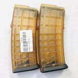 Lot of 2 new Steyr AUG 5.56x45mm 30-round capacity magazines