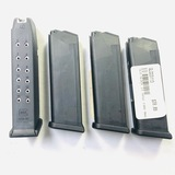 Lot of 4 new Glock G23 .40 S&W magazines
