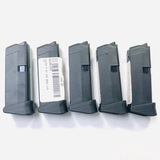 Lot of 7 new Glock G42 .380 ACP 6-round capacity extended magazines