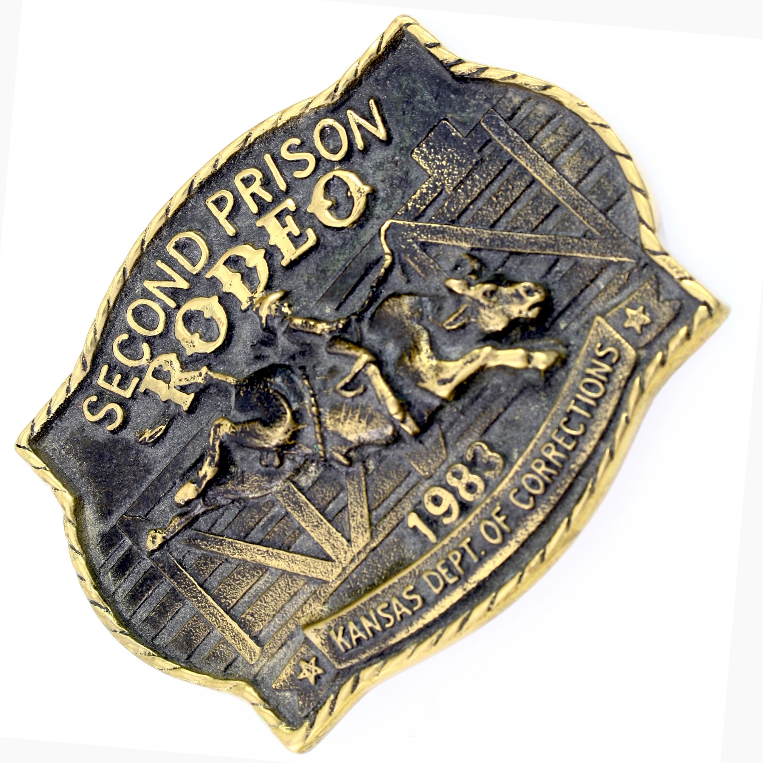 1983 Second Prison Rodeo 1983 Kansas Dept Of