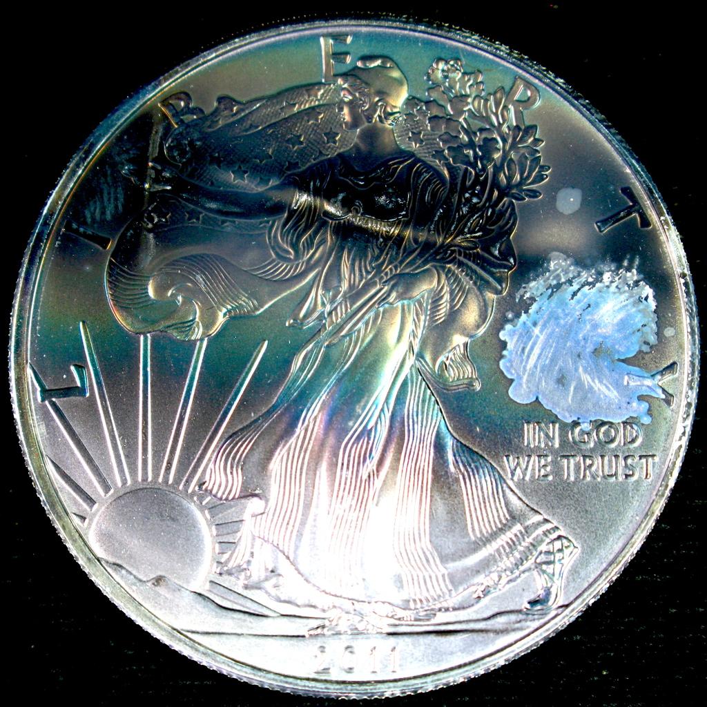 2011 U.S. American Eagle silver dollar