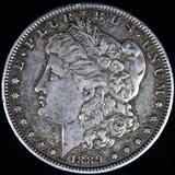 1889-S U.S. Morgan silver dollar