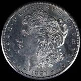 1897-S U.S. Morgan silver dollar