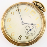 Circa 1914 17-jewel Elgin open-face pocket watch
