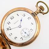 Circa 1912 7-jewel Hampden No. 300 covered pocket watch