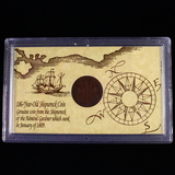 1808 East India Company shipwrecked 10-cash coin
