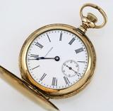 Circa 1902 15-jewel Waltham model 1900 covered pocket watch