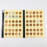 Near-complete 56-piece collection of uncirculated 1941-1961 U.S. Lincoln cents