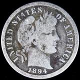 1894-O U.S. Barber dime
