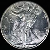 1934-D U.S. walking Liberty half dollar