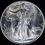 1936-D U.S. walking Liberty half dollar